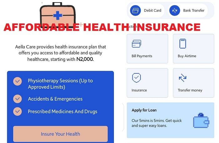 Introducing Aella loan Health Insurance services in Nigeria