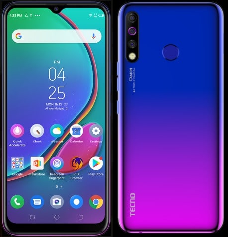 Tecno Camon 12 (CC7) features and Price in Nigeria