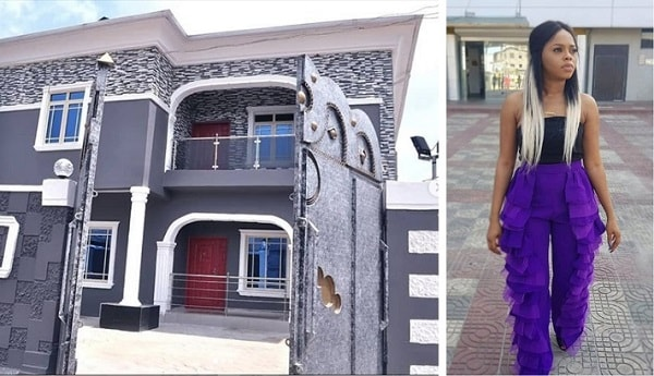 Chidinma Gift a Mansion to her mother on her 60th birthday