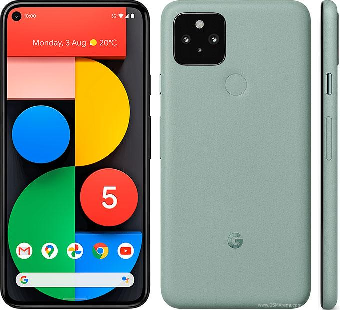 Google Pixel 5 Specification and Price (5G Network enabled)