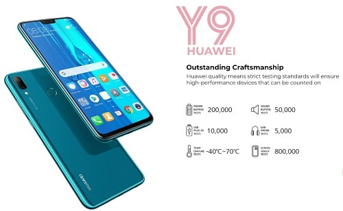 Huawei Y9 2019 Review, Specs & Price in Nigeria