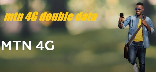 MTN 4G LTE Double Data Promo to flex with