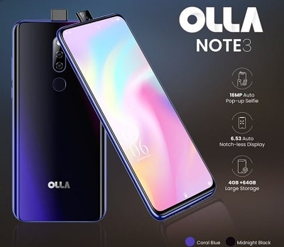 OLLA Smartphones Prices in Nigeria (A new Brand by Opay)