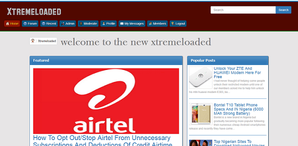Welcome to new Xtremeloaded design and features