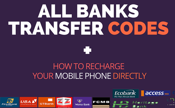 Nigerian Banks Transfer Codes | GTB, Wema, Fidelity, Union, Polaris, Access, UBA