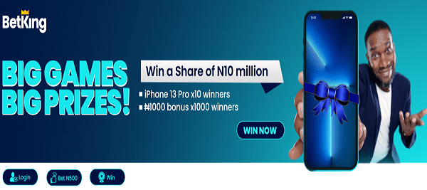 HOW TO PARTICIPATE IN BETKING 10 MILLION NAIRA GIVEAWAY