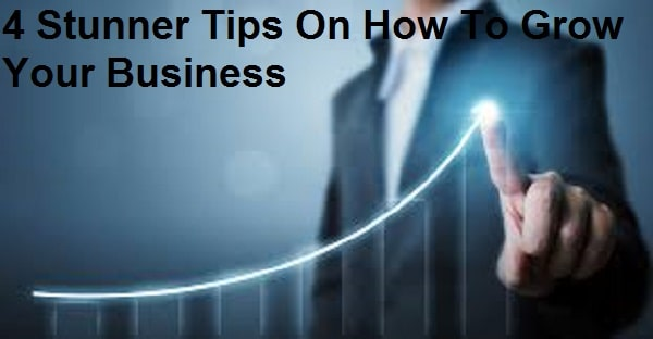 4 Stunner Tips On How To Grow Your Business