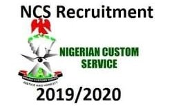 nigeria custom recruitment 2019 (Job Vacancies)