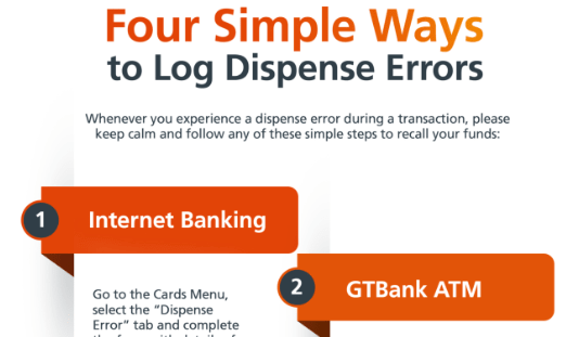 4 Simple Ways to Log Dispense Errors (GTBANK)