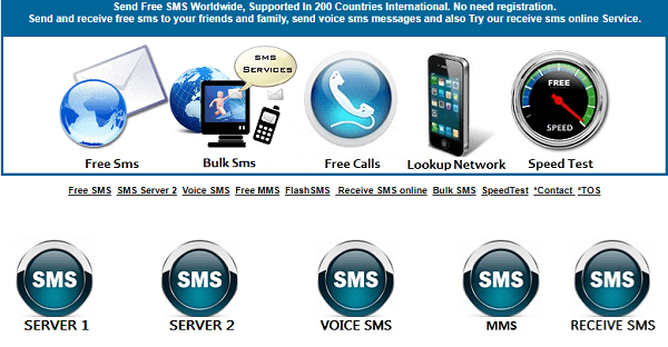 How to send free text messages online no registration required
