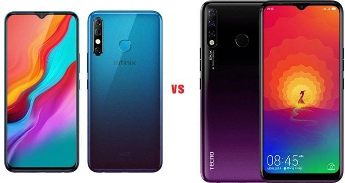 Infinix Hot 8 VS Tecno Spark 4, specs and Price