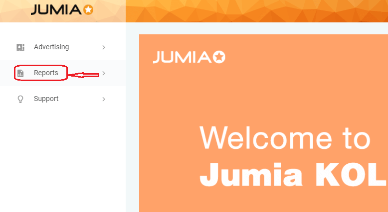 How to see the item sold on Jumia through your affiliate link