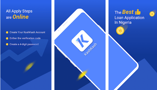 KashKash Mobile Loan app is one of the best in Nigeria