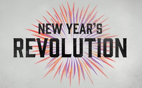 New Year Revolution (become a better person in 2021)