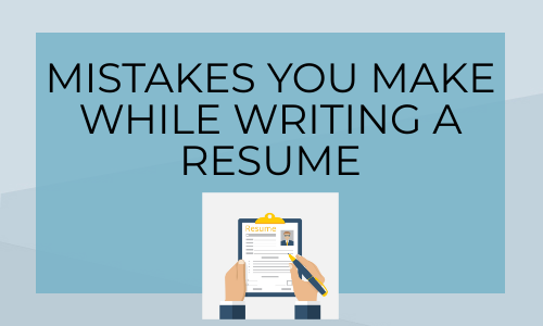 6 Things you should avoid putting on your Resume (Job searching Guide)