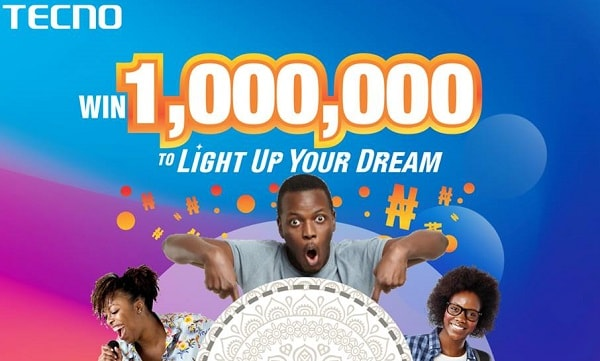 How to Win 1 Million TECNO Spark 3 Light Up Your Dream