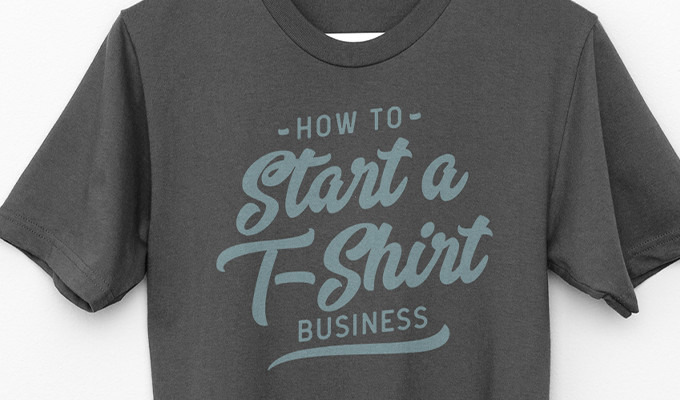 How to start a T-shirt production business - procedures