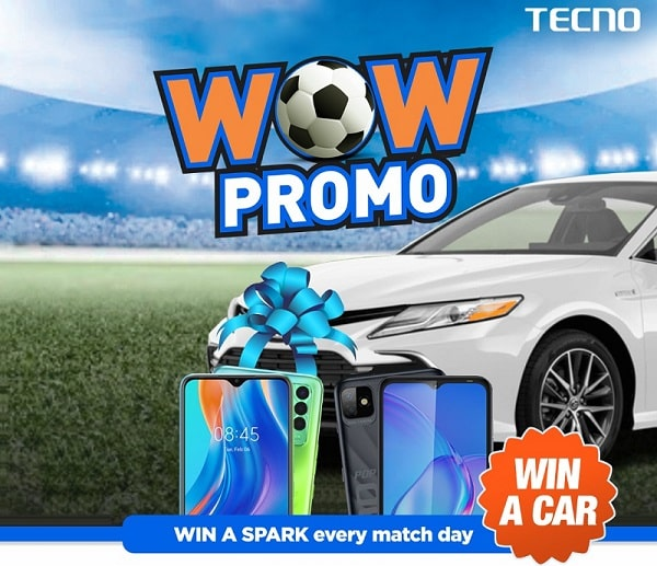How to participate in TECNO Wow Promo To win a Car & other Prizes