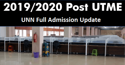 UNN 2019/2020 Post-UTME Registration Update and fees