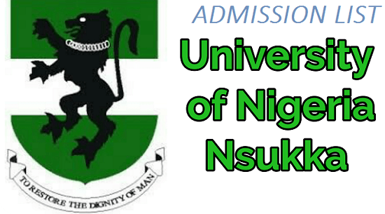 UNN 2019/2020 Admission List officially released