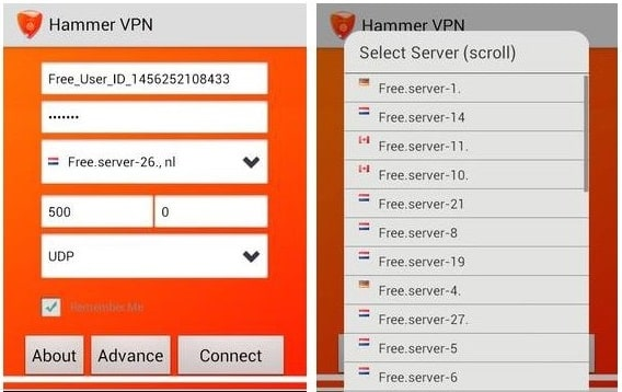 VPN Free Browsing Cheat MTN 0.0kb tweak with Hammer VPN