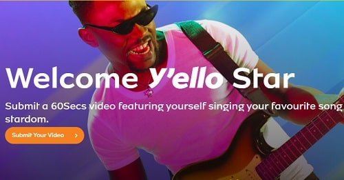 Introducing MTN Y'ello Star musical contest, be groomed and exposed